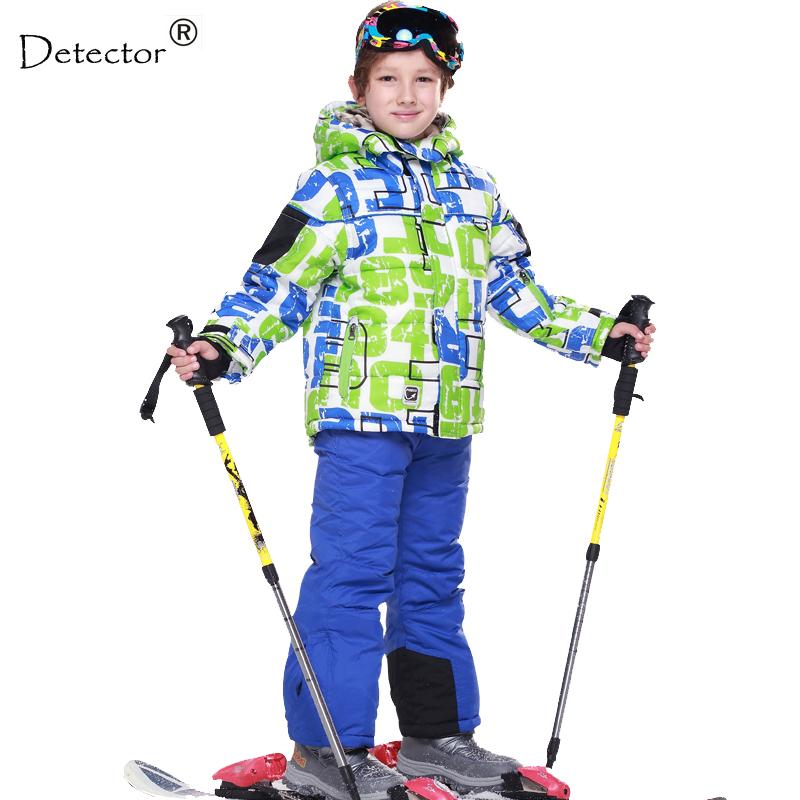 free shipping skiing jacket pant snow suit fur lining 20