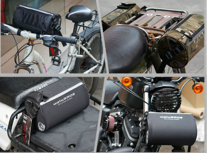 Free delivery uglyBROS bike motorcycle scooter head bag back seat bag bag Messenger bag can be equipped with hard shell backpack(China (Mainland))