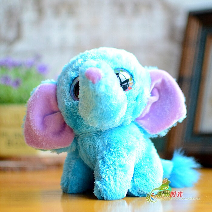 Elephant doll Super Kawaii Big Eyes Plush kids Toys Dolls baby Gift stores(China (Mainland))