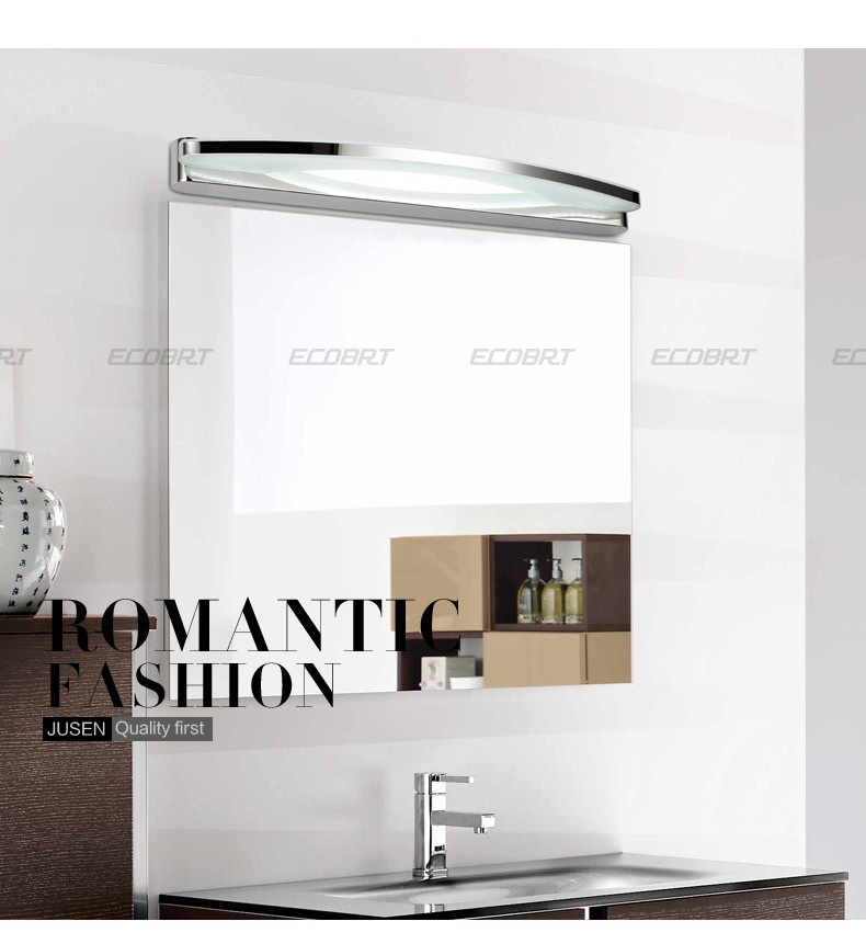 Wow newly designed 17w 80cm bathroom led wall light for Mirror 80cm wide