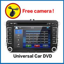 ! 2Din 7 Inch Car DVD Player VW GOLF 5 6 POLO PASSAT CC JETTA TIGUAN TOURAN EOS SHARAN SCIROCCO TRANSPORTER T CADDY - juguar Store store