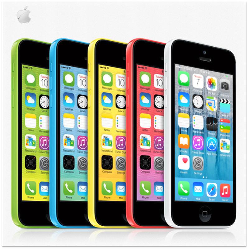 "Original Apple iphone 5C 8GB/16GB/32GB Dual Core IOS 8 4.0""IPS 8MP 3G Smartphone WIFI USED Unlocked Cellphone(China (Mainland))"