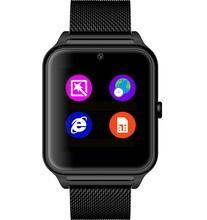 Wz60 умный часы наручные часы Bluetooth NFC камеры Smartwatch телефон шагомер GSM TF карта сидячий напомнить для Android и iOS