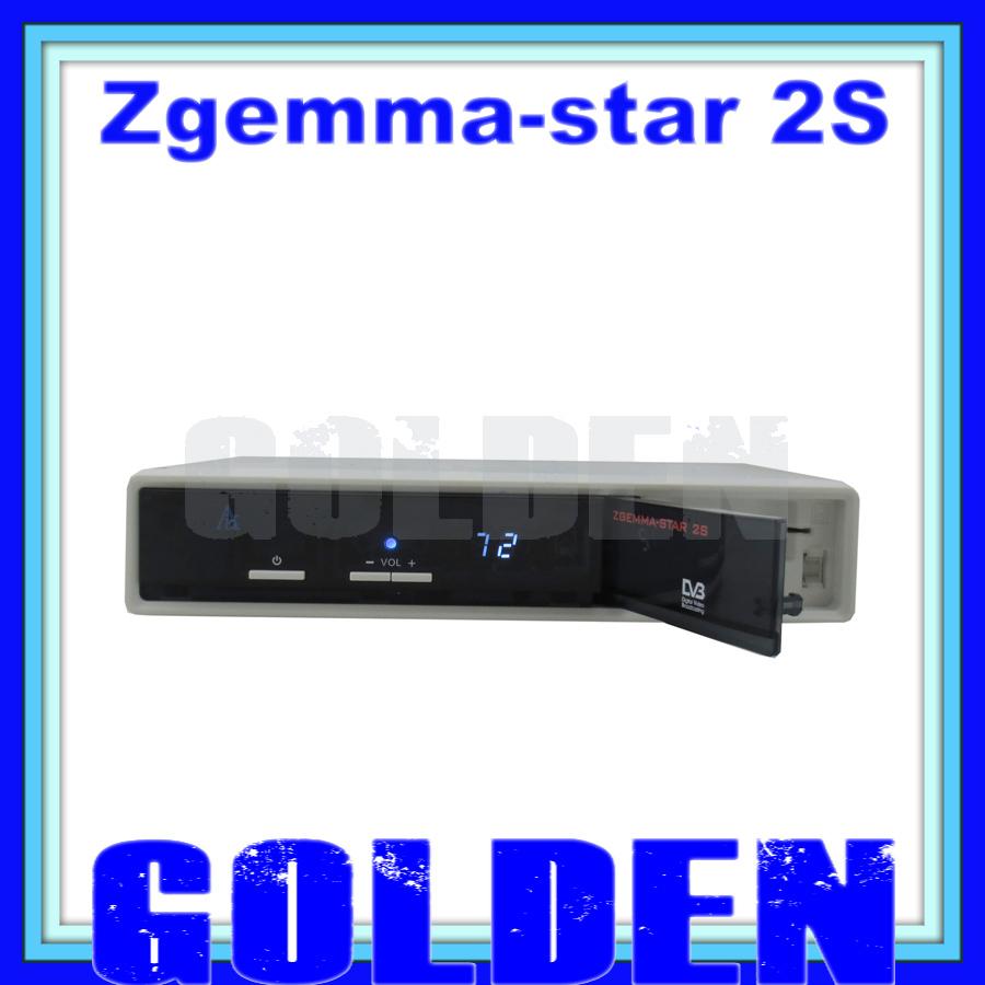 1 pc/lot dhl free New arrival !!! dvb-s2+s2 tv satellite receiver Zgemma-star 2S Two Tuner Linux OS Smart Box Zgemma-star 2S(China (Mainland))