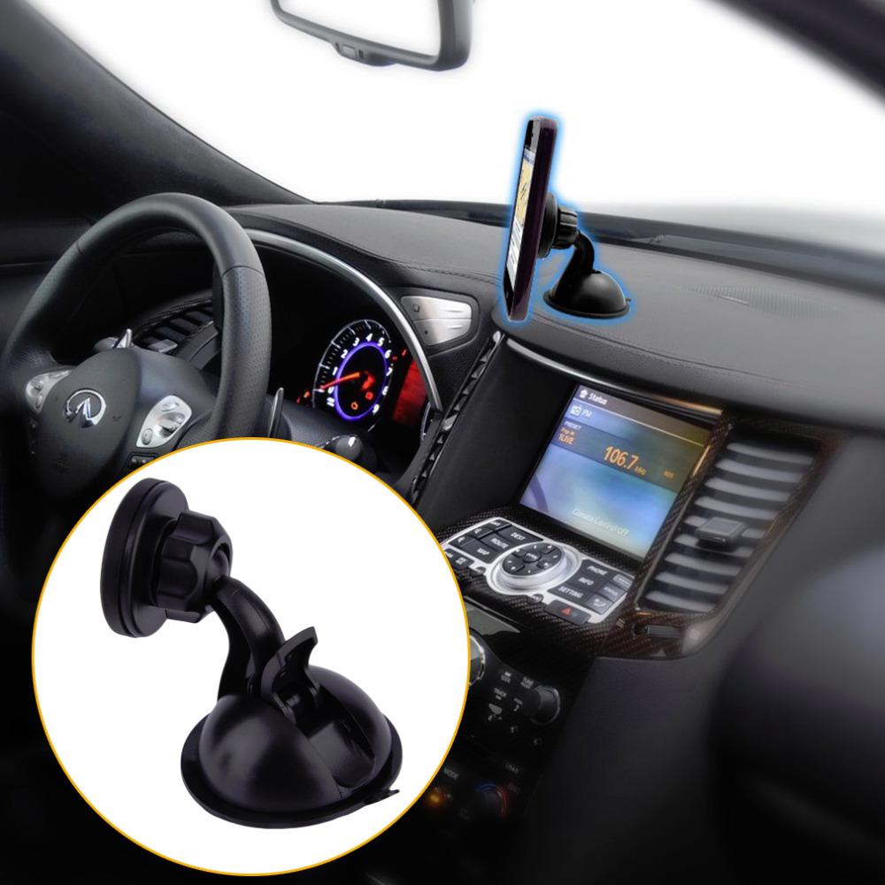 Новый Универсальный 360 Поворот Автомобилей Присоске Магнитный Держатель Для Телефона GPS Оптовая