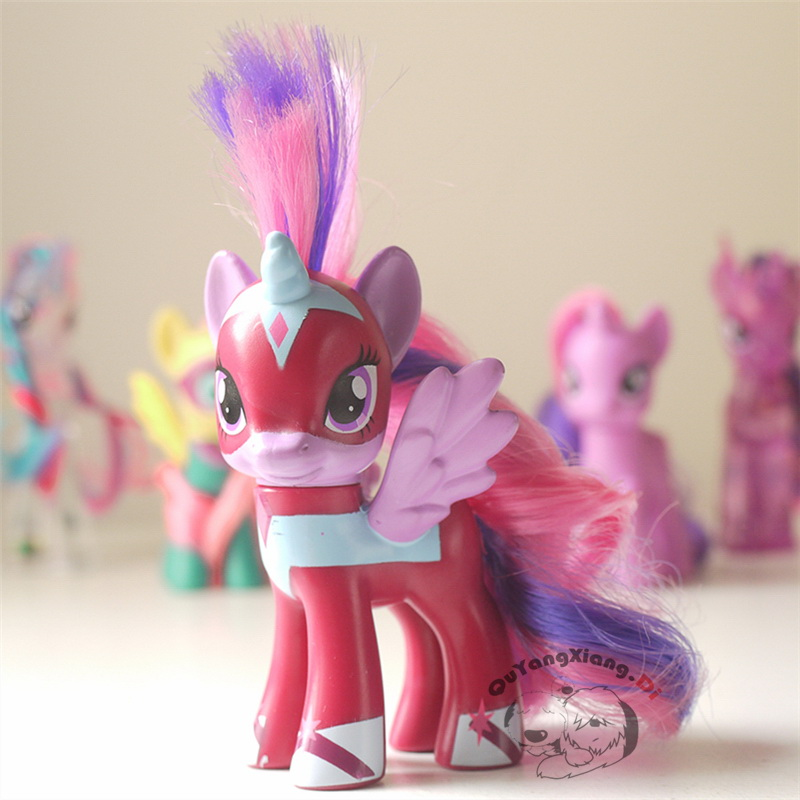 MLP 8cm Cutie Mark Magic Masked Princess Twilight Sparkle Exclusive Poni font b Figure b font
