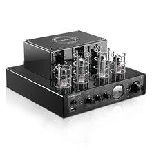 NEW black Nobsound MS-10D MKII Hifi 2.0 tube amplifier USB/Bluetooth amplifier Audio Amplifier 25W*2 TOP sale(China (Mainland))