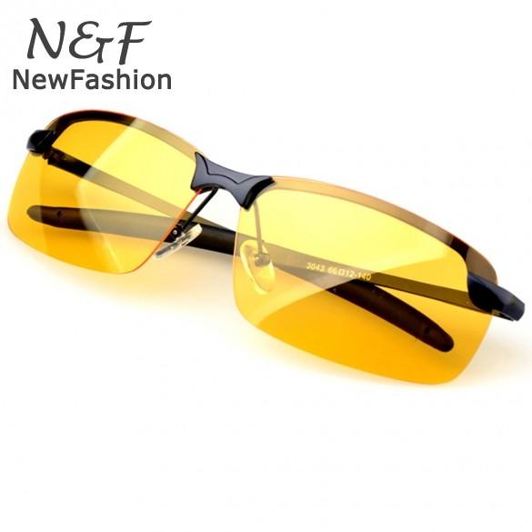 Новое ночного вождения очки с антибликовым покрытием видение безопасности водителя солнцезащитные очки женщины мужчины очки спорта sv14
