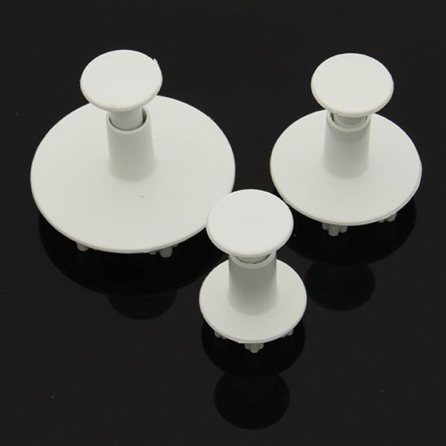 Snowflake Plunger Decorating DIY Tool for Fondant Cake (3pcs/set)