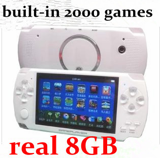 """Christmas 100pcs/lot 8GB 4.3"""" Game Player MP4 MP5 Player Handheld Game Console+Camera+TV out HDMI(China (Mainland))"""