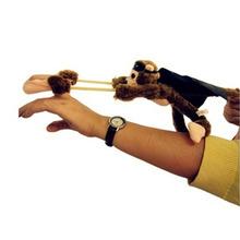 New Cute Flying Cartoon Monkey Screaming Flying Slingshot Plush Toys Hot Selling(China (Mainland))