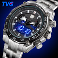 2016 TVG Brand Watches Men s Sports Stainless Steel Waterproof Quartz Watch Analog Digital wristwatches for