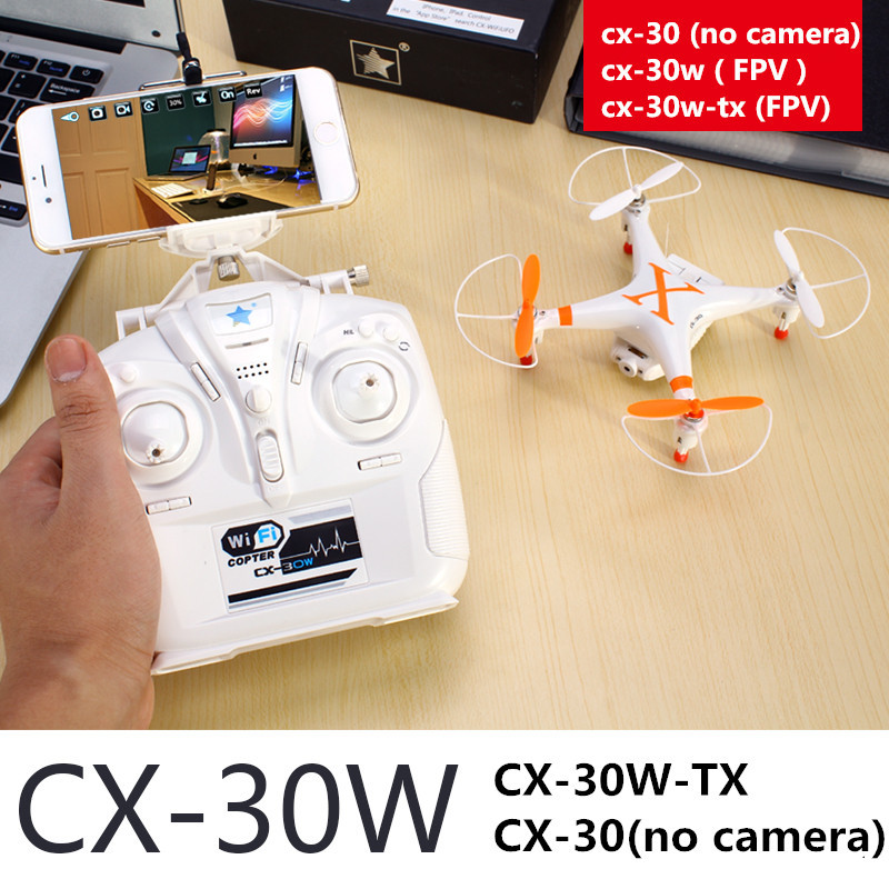 cx-30 cx-30c cx-30w Wifi FPV dron quadcopter quadrocopter WIFI Helicopter can choose camera ufo Six axis GYRO VS Walkera QR Y100(China (Mainland))