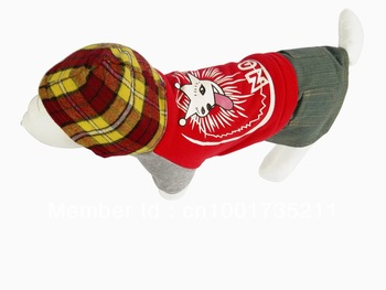 beautiful lovely fashionable comfortable NO.1 cotton suite for pet dogs
