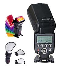 Buy Yongnuo YN560 III YN560III Flash Speedlite Wireless Flashlight flash Canon Nikon Pentax Olympus Panasonic DSLR Camera for $67.98 in AliExpress store