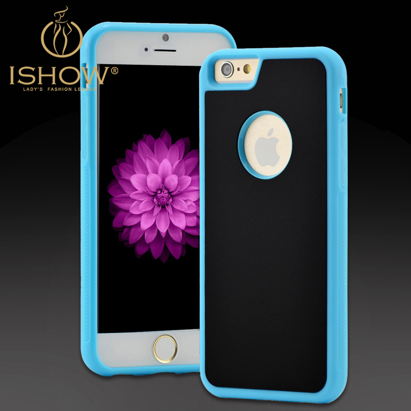 New Arrival Functional Sticky Phone Case for Iphone 6 Coque Anti Knock Anti-Gravity Suction Cover Fundas for Men and Women(China (Mainland))
