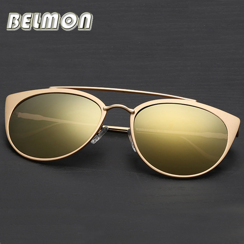 Fashion Sunglasses Women 2016 Brand Designer Oval Sun Glasses Ladies High Quality Mirror Colorful Lens For Female Oculos RS049(China (Mainland))