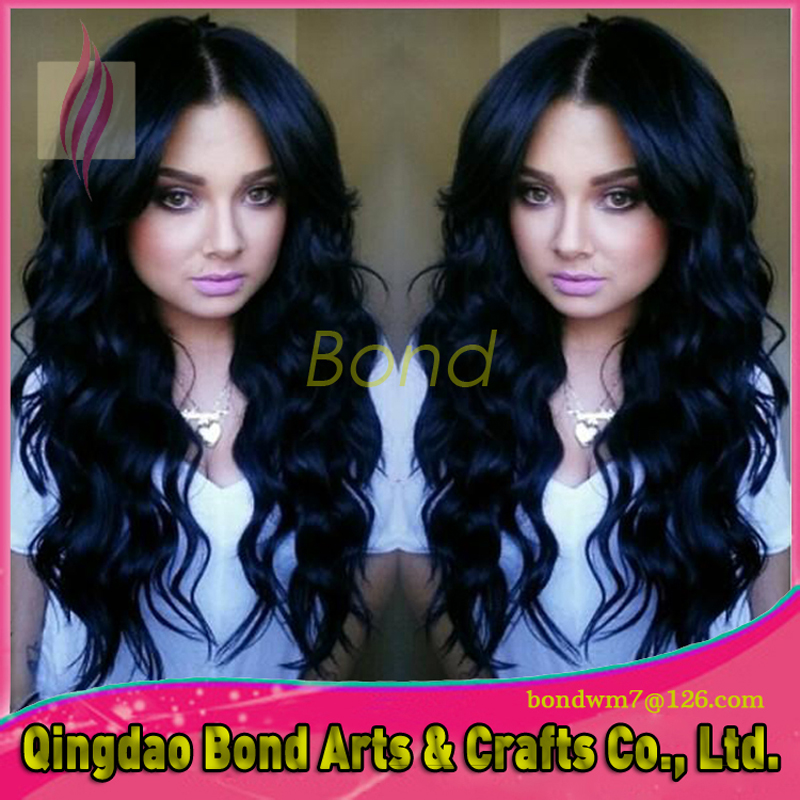 Фотография Cheap Long Natural Brazilian Hair Glueless Lace Front Wig For Black Women Real Hair Hot Sale