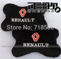 Freeshipping Renault megane Renault Koleos bamboo charcoal pillow on genuine 2PCS/LOT(China (Mainland))