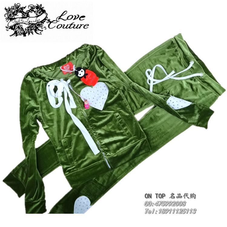free shipping Love Couture by Lourdes women suit 2015 official website of the same paragraph Ms. velvet suit Russia's Clothing(China (Mainland))