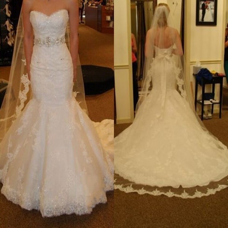 Online get cheap allure bridal gown for Cheap allure wedding dresses