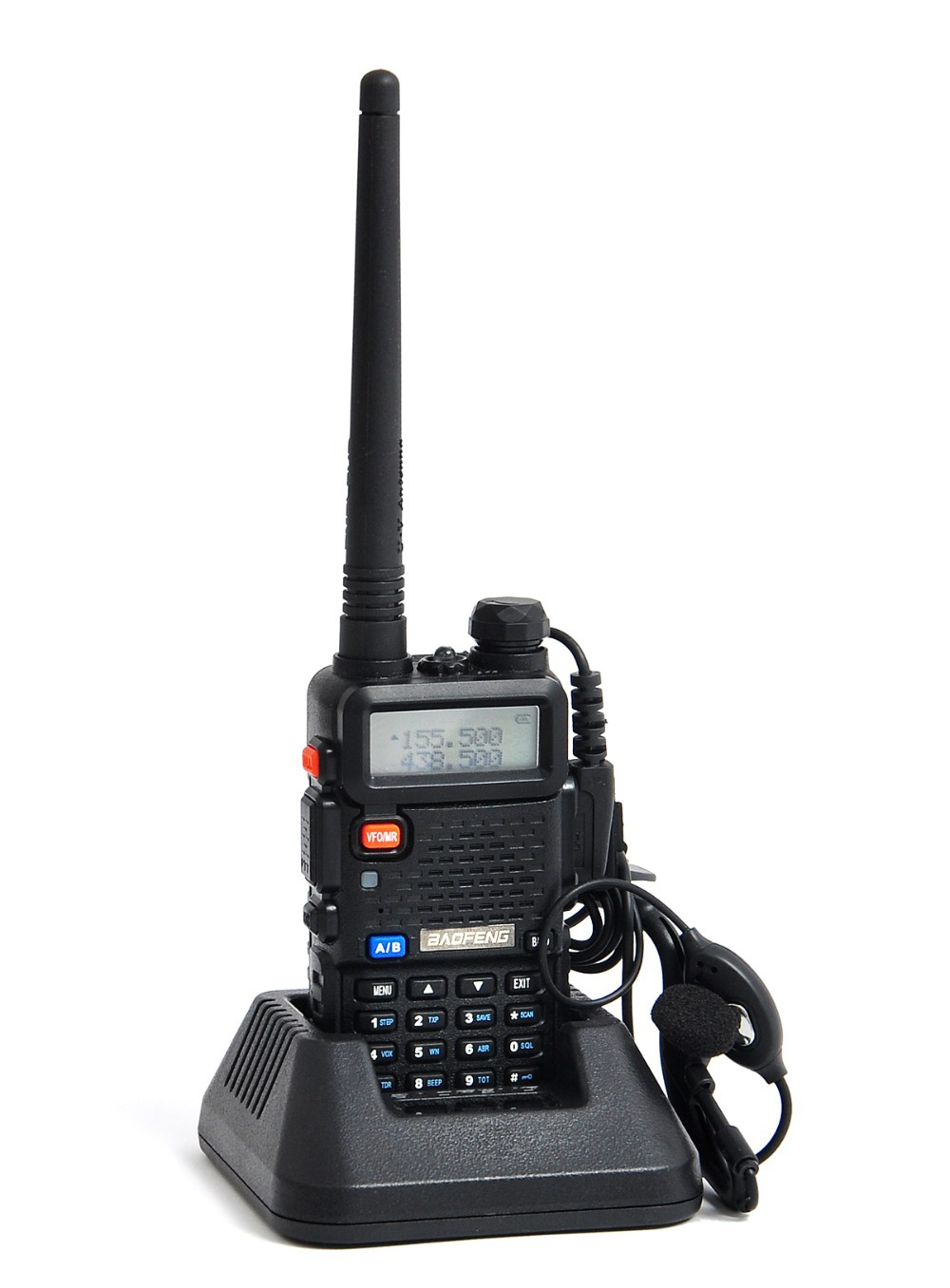 New BaoFeng UV-5R Portable Radio UV 5R Walkie Talkie 5W Dual Band VHF&UHF 136-174Mhz & 400-520Mhz Two Way Radio UV5R A0850A