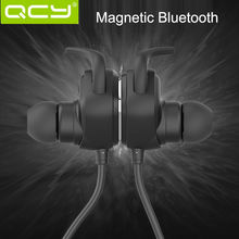 QCY QY12 Bluetooth Earphone V4.1 Wireless Neckband Sport Stereo Earphones with Microphone Magnetic Adsorption Headphone English(China (Mainland))