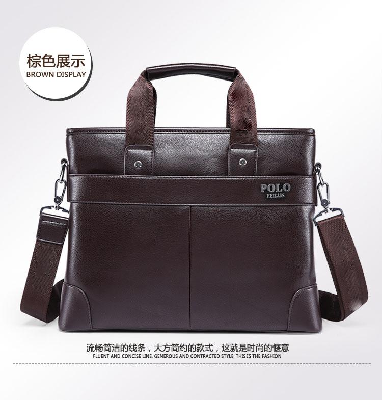 Leather Leather Mobile Commerce Male Bag Shoulder Bag Satchel Men's
