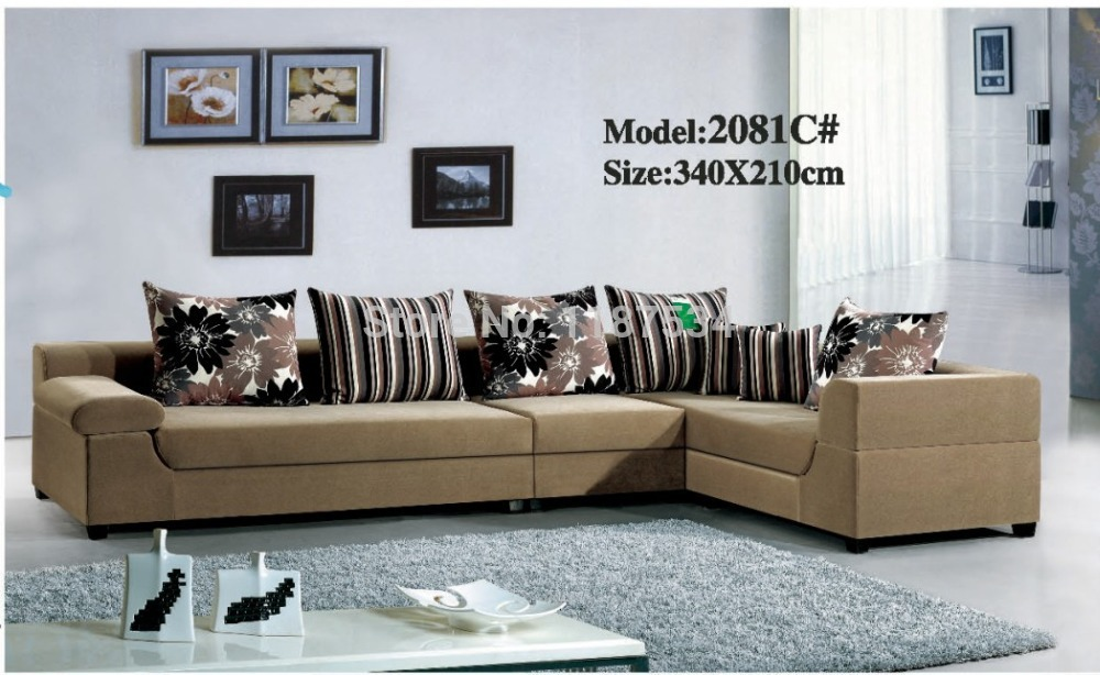 Price home furniture living room sofa sets fabric corner sofa set
