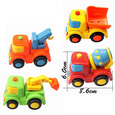 Free Shipping 1pcs Christmas gift Baby Child Children autotruck semi-automatic car toy wholesale 2015 New Arrival Promotion(China (Mainland))
