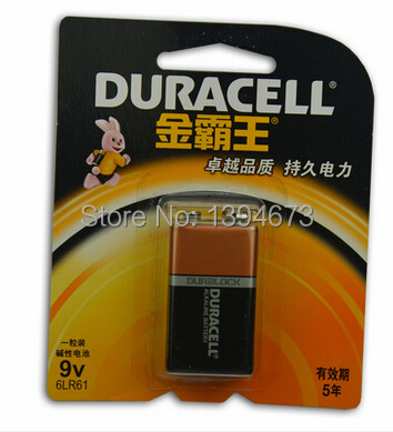 HOT NEW DURACELL 6LR61 9v of high-performance alkaline batteries<br><br>Aliexpress
