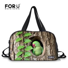 Hot sale Super cute birds printing women travel bags Fashion girls outdoor hand luggage Casual female duffle bags bolsa feminina(China (Mainland))