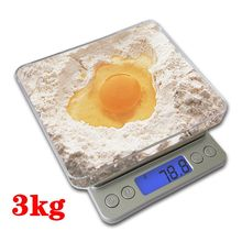 Buy Kitchen Scales 3000g x 0.1g Mini Portable Digital Pocket Scale 3kg 0.1 Precision Jewelry Electronic Balance Weight Gold Gram for $9.55 in AliExpress store