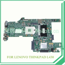 "FRU 04Y2003 Laptop motherboard For lenovo thinkpad L430 14"" HD4000 DDR3"