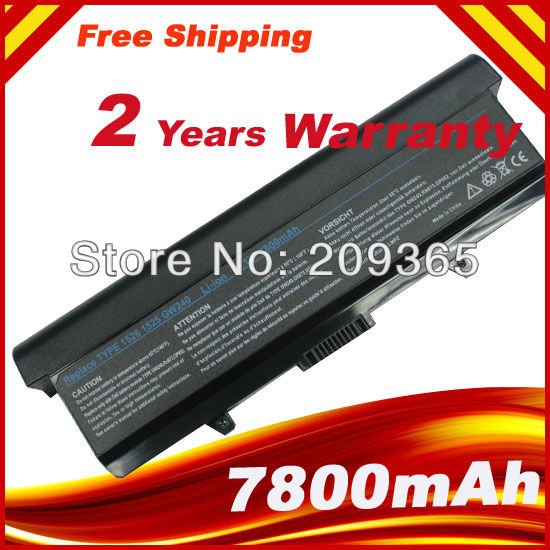 7800mAh 9 Cell  Laptop Battery for Dell Inspiron 1525 1526 1545 1546 PP29L PP41L For Vostro 500<br><br>Aliexpress