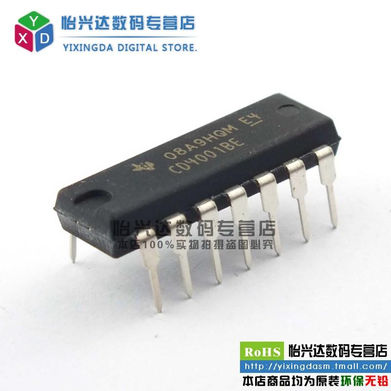 CD4001BE CD4001 DIP-14 NOR gate logic --YXDDZ(China (Mainland))