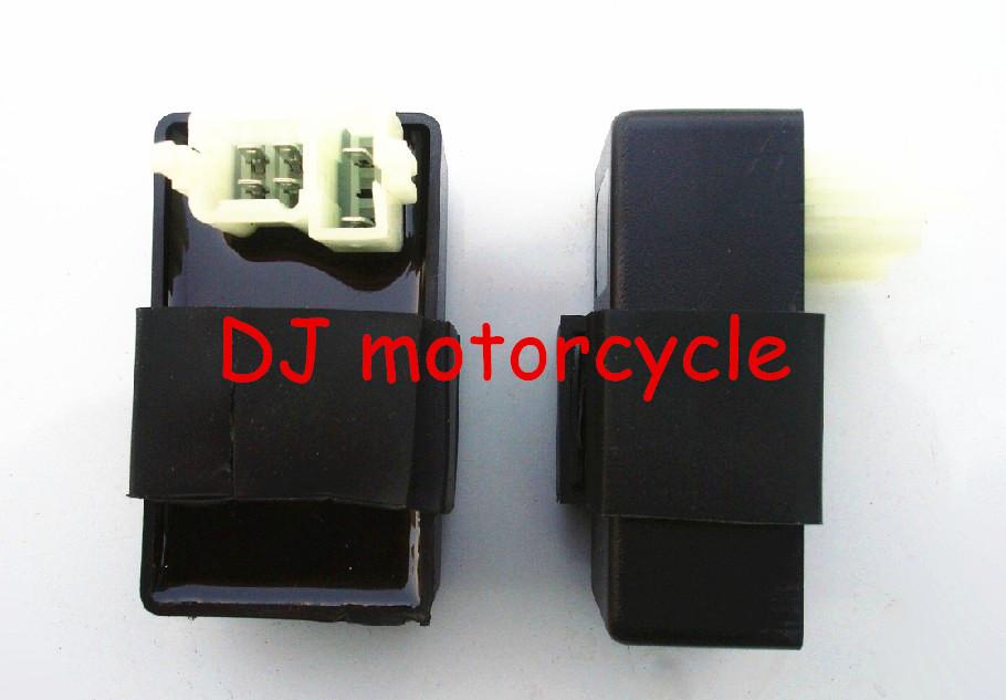 High Performance 6 Pin CDI Box For 150cc Honda Pit Bike Dirt Bike Ignition CDI 2 Plug 125cc 140cc 160cc 200cc(China (Mainland))