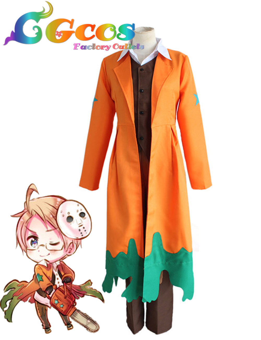 Free Shipping Cosplay Costume APH Axis Powers Hetalia Full Set Uniform New in Stock Halloween Christmas Party(China (Mainland))