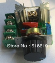 free shipping 10 pcs/lot 2000w import electronic voltage regulator, silicon controlled dimmer, speed control, thermal control(China (Mainland))