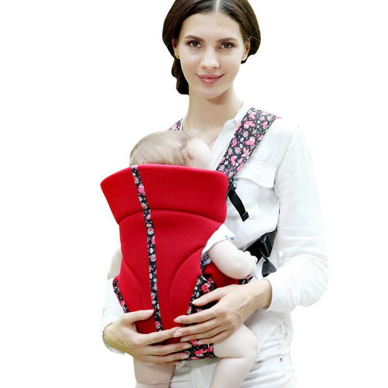 Baby Carrier Backpack 4 Position Cotton Infant Sling Wrap for Newborns Baby Carriage Baby Care Baby Wrap