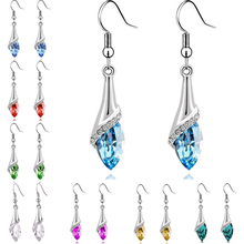 Brincos Crystal Earrings For Women Hot sale Fashion costume Jewelry Women Special Offer Classic Long Earring Pendientes