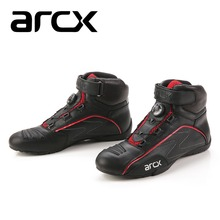 Yachts / arcx motorcycle boots riding shoes buckle breathable autumn and winter models locomotive shoes / Size: 39-45(China (Mainland))
