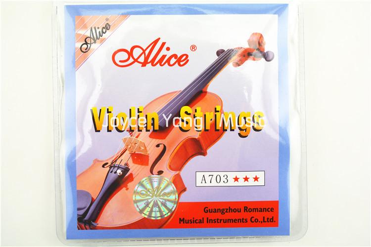 Гаджет  1 set Violin Strings Alice A703 high quality violin strings 4 pieces tone 1E 2A 3D 4G, Free shipping None Спорт и развлечения