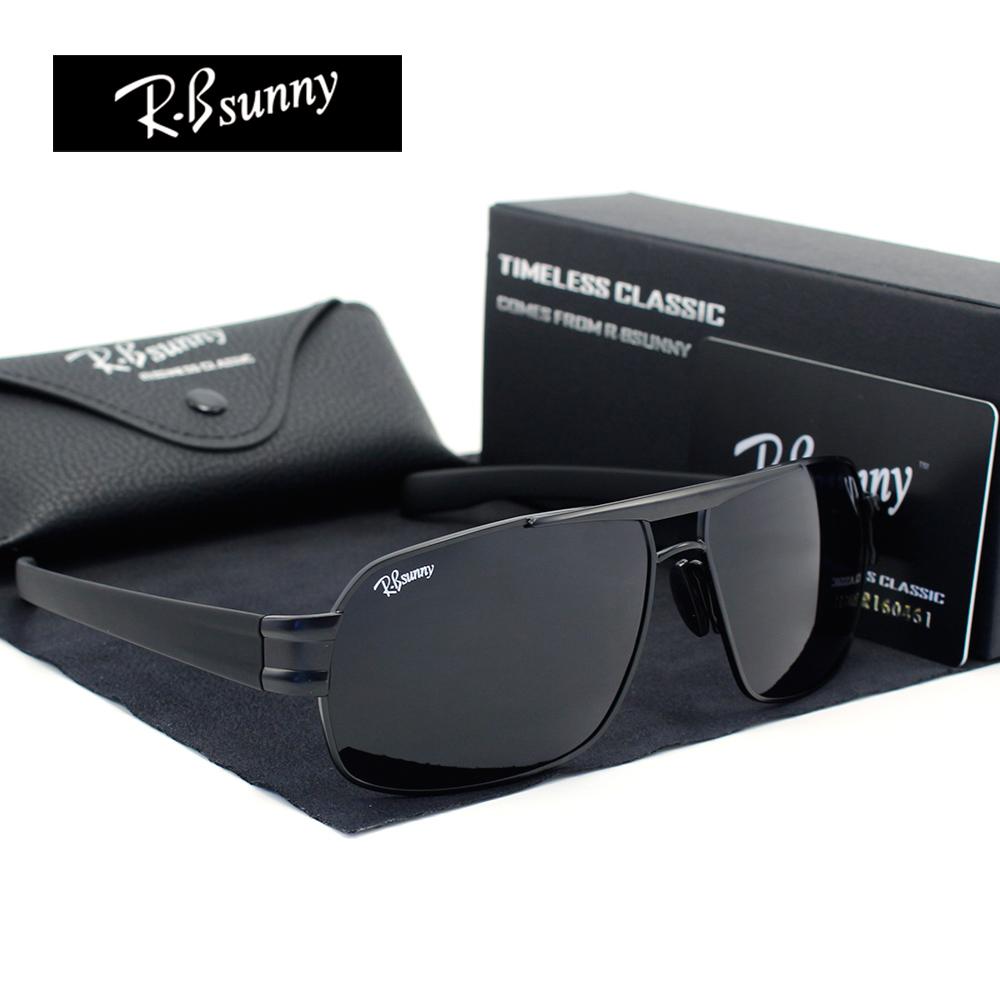 HD high end business classic polarized sunglasses Men