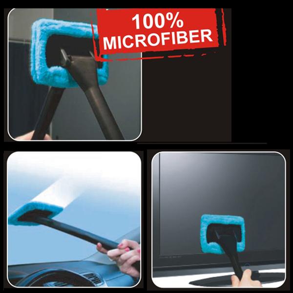 TIROL T20132d Windshield Clean Fast Easy Shine Car Auto Wiper Cleaner Glass Window Brush New 100% Microfiber 10pcs/lot(China (Mainland))