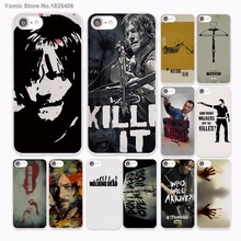 Buy TV SHOW Walking Dead Daryl Dixon Zombie design hard White Case Cover Apple iPhone 7 6 6s Plus SE 5 5s 5C 4 4s phone case for $1.91 in AliExpress store