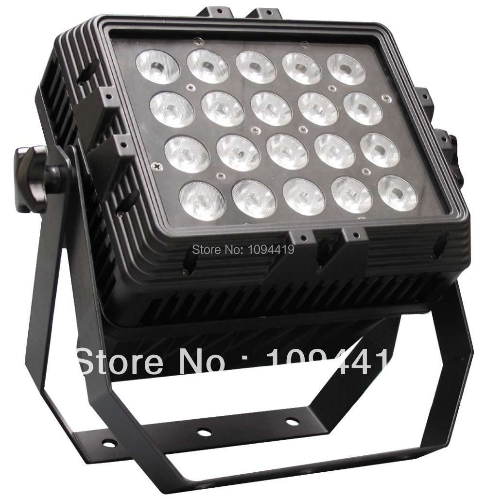 Free shipping waterproof 20x15w rgbwa 5 in 1 high power led wall washer(China (Mainland))