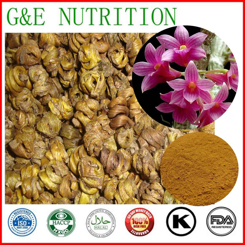 10g New Arrival Dendrobium nobile/ Caulis Dendrobii Extract with free shipping <br><br>Aliexpress