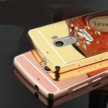 Buy 2016 Mirror Back Cover Case Lenovo A7010 Aluminum Metal Frame Set Hot Phone Cases Lenovo Lemon K4 Note / Vibe X3 Lite for $3.11 in AliExpress store