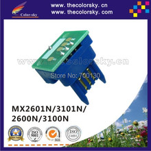 (TY-MX31) toner cartridge reset chip Sharp MX-2600 MX-3100 MX3100 FT NT T ST LT JT kcmy 18k/15k free dhl - The Color Sky Technology Co., Ltd. store